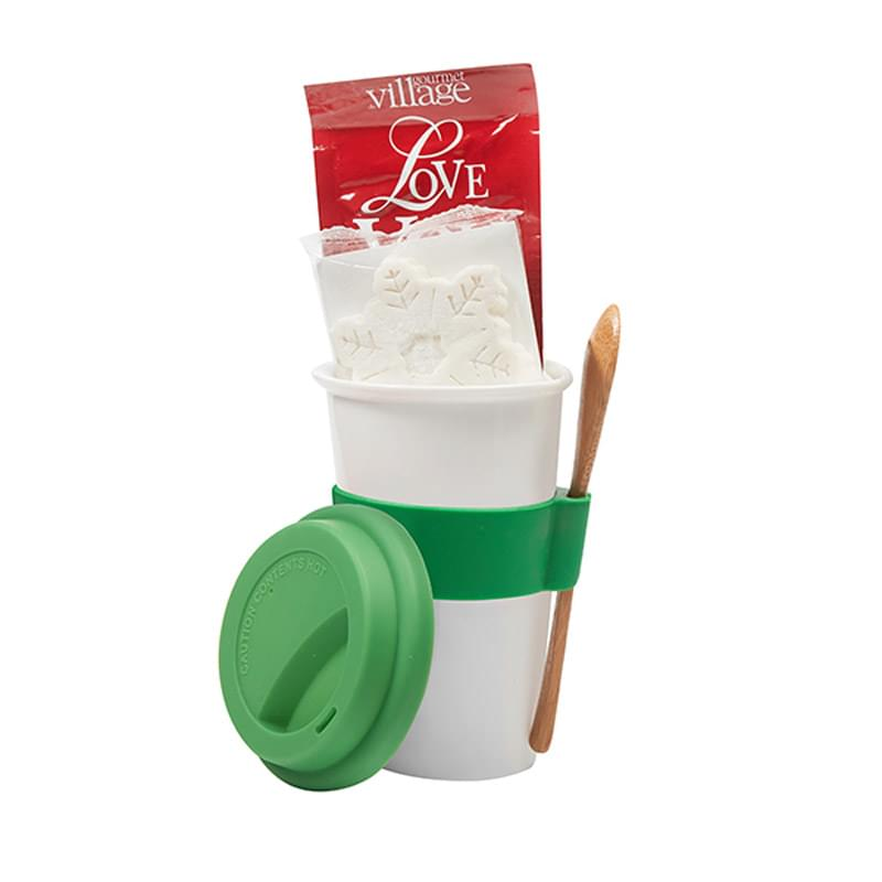 'I'm Not A Plastic Cup' Hot Cocoa Gift Set w/10 Oz. Ceramic Tumbler