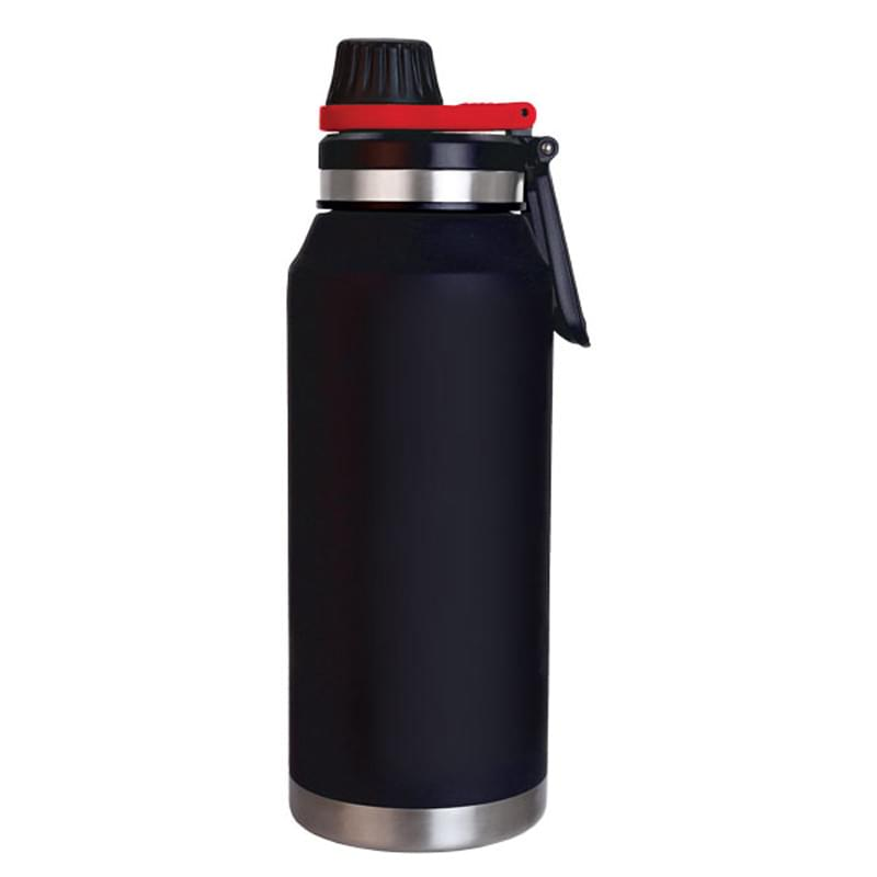 Polar Growler 32 oz. Double Wall Black Vacuum Sealed Bottle