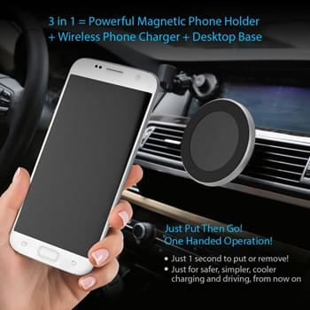 Cellphone Wireless Vent Mount