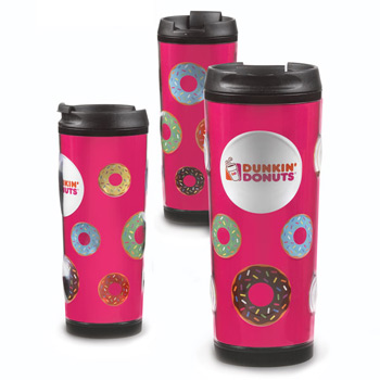 Bubble - 16 Oz. Double Wall Bubble Tumbler Full color paper insert