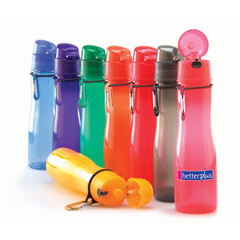 20 Oz. Eco Rio Biodegradable Sport Bottle with Carabiner Clip
