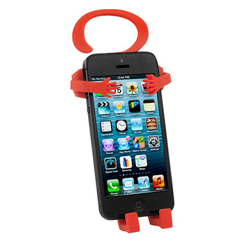 Buddy Flexible Silicone Hanging phone holder