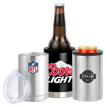 12 oz. 18/8 3-in-1 Stainless Steel Joe Joe Can Cooler