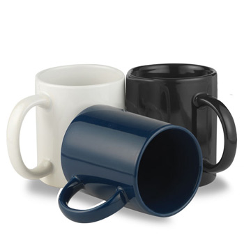 Classic 11 Oz. C Handle Ceramic Mug