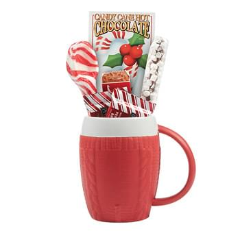 Sweater Mug Gift Set w/Hot Cocoa & Cookies