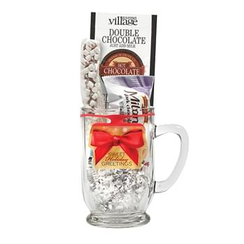 Bolero Black N' White Gift Set Holiday Gift Set w/16 Oz. Glass Mug