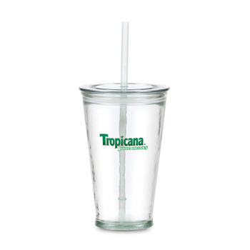 16 Oz. Glass Slurpy Tumbler