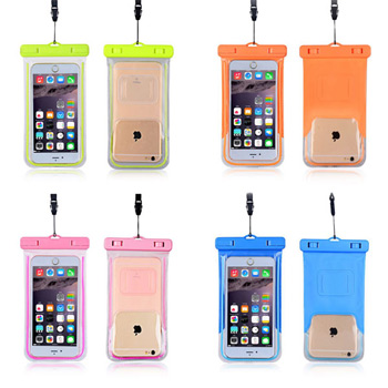 Waterproof Glow in the dark Phone Holder case 3