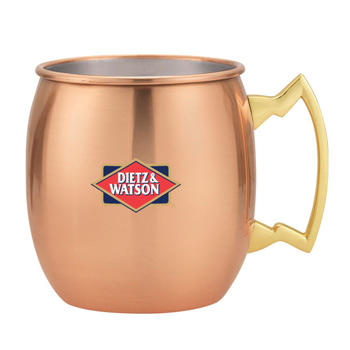 18 Oz. Dutch Mule Mug Stainless Steel with copper Electroplating.