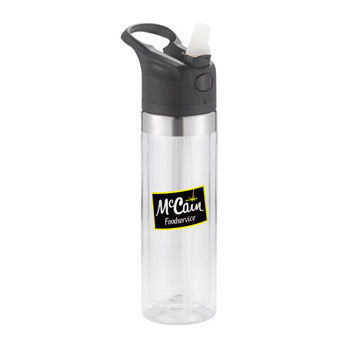 20 Oz. Ozark Sports Bottle double wall with optional insert.