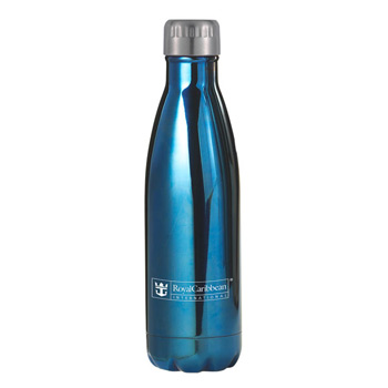 Serendipity 17 Oz. Vacuum Sealed Stainless Steel Bottle - Copper, Copper/Silver, Blue