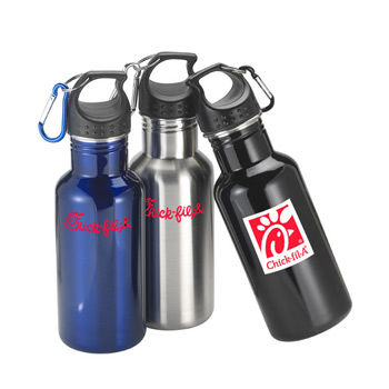 20 Oz. Montego Bay Single Wall Stainless Sports Bottle