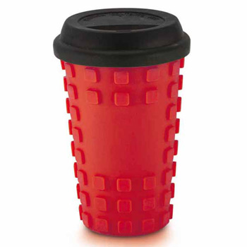 Sili Square Ceramic Tumbler 16 oz and silicone grip