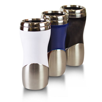 St. Tropez - 14 Oz. Tumbler plastic and stainless.