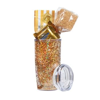 The Real Deal Gone Golden w/20 Oz. Tumbler & Gold Confetti Insert