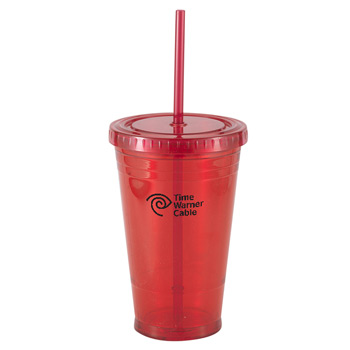 16 Oz. Slurpy Cup Double walled tumbler