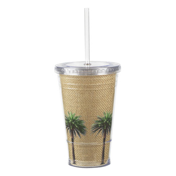 16 Oz. Venti Slurpy Cup Double wall tumbler and paper insert