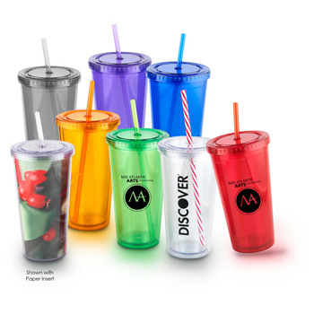 20 Oz Venti Slurpy Double Wall Tumbler