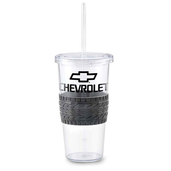 24 Oz Burpy Single Wall Tumbler with Tire Grip