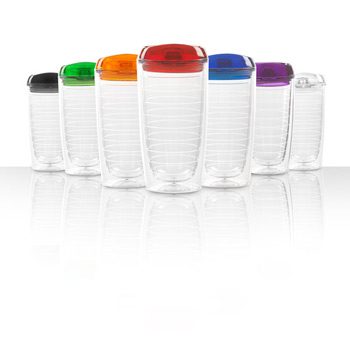 18 Oz. Ringo Double Wall Acrylic Tumbler assorted insert options