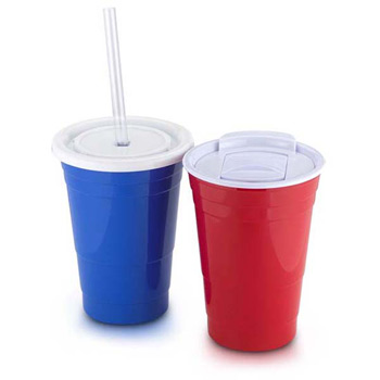 Party Hard Cup 20 oz double wall acrylic