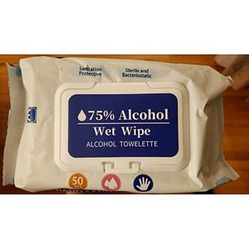 Alcohol Wipes - 50 Soft Pack